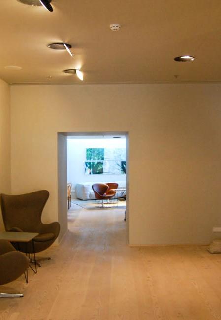 Hotel em Lisboa com projeto de iluminação da Traço de Luz em colaboração com a equipa de arquitetura.