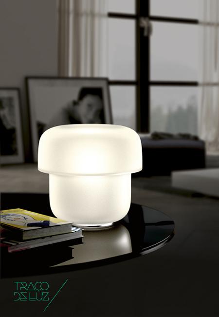 Traço de Luz Candeeiro de mesa Prandina Mico