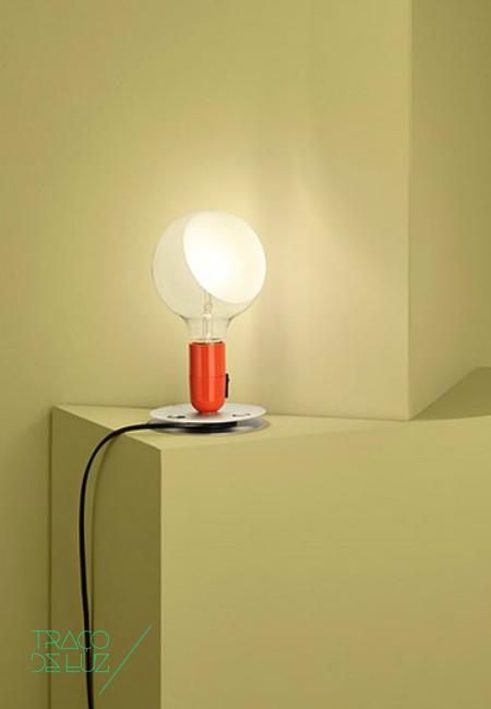 Traço de Luz Flos Lampadina Laranja Shop Buy Online Loja Comprar Preço Price Delivery Portugal Iluminação Lighting Candeeiro Lamp Design Lâmpada