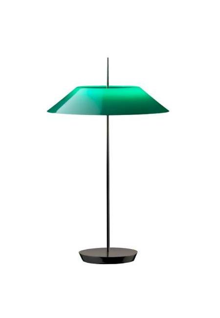 Mayfair verde, candeeiro de mesa da marca Vibia, na Traço de Luz iluminação, Portugal