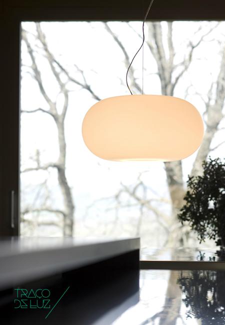 Traço de Luz Prandina Candeeiro Iluminação Lighting Luminaria Design Arquitectura Interiores Projecto Construção Decoração GONG T Exterior LED Comprar Loja