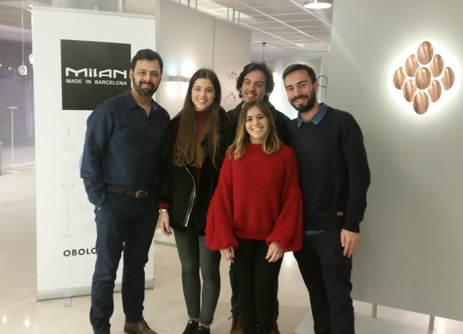 Traco de Luz Milan Iluminacion Visita Fabrica Premio Concurso CRIA Concurso para Jovens Designers de Iluminacao