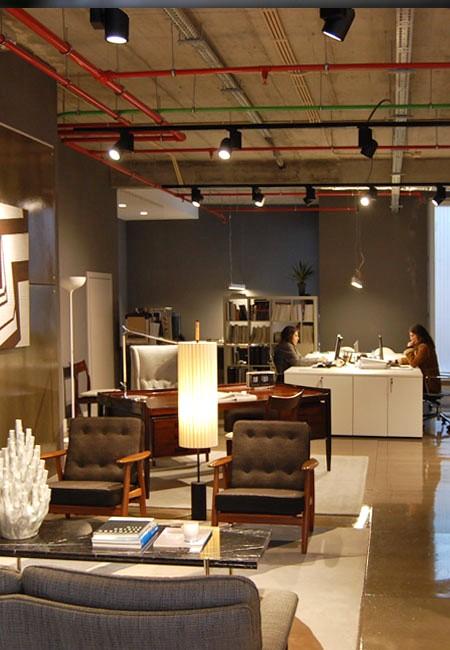 Projeto de iluminação da Traço de Luz no Atelier Pura Habilidade