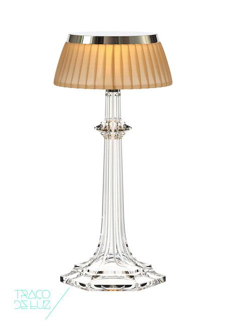 Bonjour Versailles cobre, candeeiro de mesa da marca Flos, na Traço de Luz iluminação, Portugal
