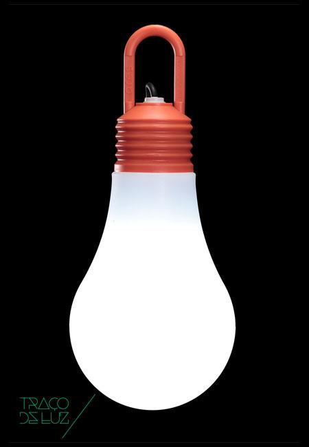 LaDina laranja, candeeiro de suspensão de exterior da marca Ares, , na Traço de Luz iluminação, Portugal