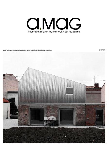 Para o número 13 da revista, que incide no trabalho de dois jovens ateliers europeus,Bast::Bureau Architectures Sans Titre eGens ::Association Libérale d'Architecture, contámos com uma parceria com aHager/Berkercom quem trabalhamos. Procure-nos no interior da suaAMAG.