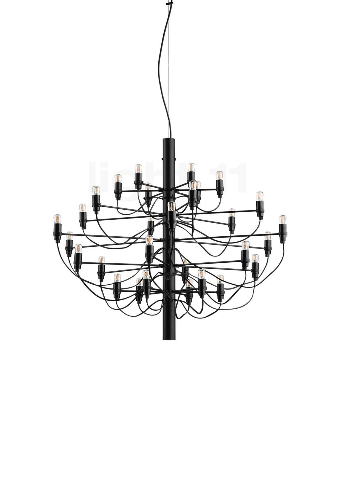 2097/30 preto, candeeiro de suspensão da marca Flos, na Traço de Luz iluminação, Portugal