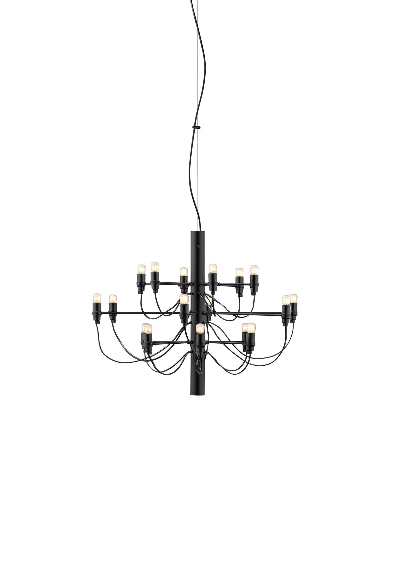 2097/18 preto, candeeiro de teto da marca Flos, na Traço de Luz iluminação, Portugal