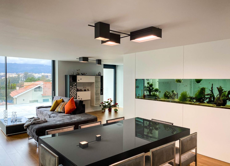 Projeto de iluminação da Traço de Luz_Moradia_Vila Real